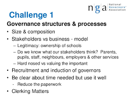 Challenge What To Do Nga Reveals The Challenges Opportunities For School Governors