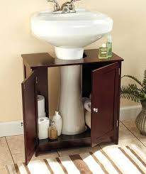 and fancy bathroom pedestal sink addition for a better bathroom