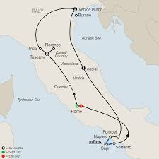 Map Of Capri Italy by Italy Tours With Globus Escorted Tours