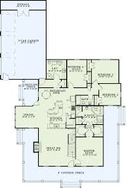 one story open floor plans with 4 bedrooms bedroom 1 3 throughout