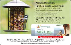 wild birds unlimited woodhaven ads thenewsherald com