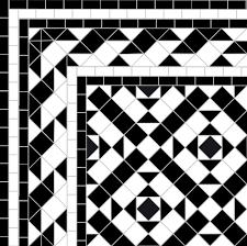 Border Floor Tiles Black U0026 White Mosaic Path In Putney London Sw15 U2014 Mosaics By Post