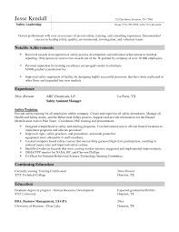 aviation resume exles cover letter safety officer gallery cover letter sle