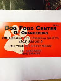 dog food center of orangeburg llc home facebook