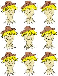 scarecrow writing paper fall crafts for sunday school kids scarecrow template