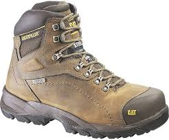 womens cat boots nz diagnostic hi waterproof steel toe work boot beige