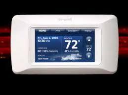 Honeywell Portable Comfort Control Honeywell Prestige Hd Thermostat Installation Youtube