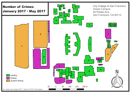 Sf Crime Map City College Of San Francisco Map City College Of San Francisco