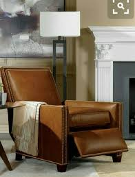 that lamp and that leather recliner chair ethan allen