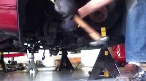 lexus ls430 lower control arm lexus gs400 lower ball joint removal trick youtube