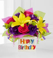 birthday delivery eflowers the ftd happy birthday bouquet ftd florist flower