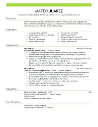 teaching resume exles elementary school resume sle