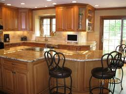 Kitchen Island Unit Granite Countertop White Kitchen Cabinets Countertop Ideas