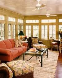 Windows Sunroom Decor Especially Like This Furniture Arrangement Table At Back Of Room