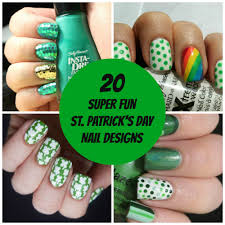 20 super fun st patrick u0027s day nail designs