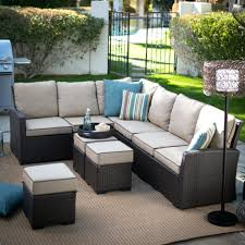 Outdoor Furniture Sectional Sofa Patio Ideas Uduka Outdoor Sectional Patio Furniture White Wicker