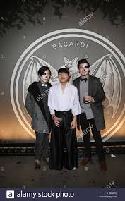 halloween parties new york city guests attending the bacardi x kenzo digital present u0027we are the