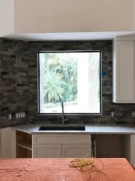 does kitchen sink need to be window kitchen window not centered on sink