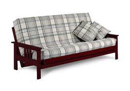 monterey full size rosewood futon set by j u0026m furniture