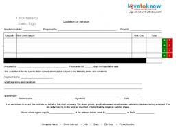 Insurance Quote Sheet Template Free Quote Forms For Contractors