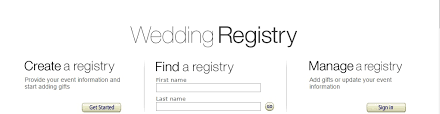 how to find wedding registry tips on registering with and what to do after that