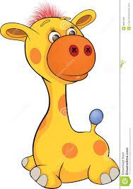 toy giraffe cartoon stock image image 36811651