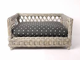 wicker dog bed basket oval available in small medium large xlarge