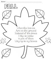 25 fall poems ideas october song kids