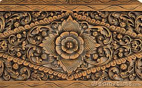 pattern of carved on wood royalty free stock photos image