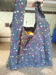 organic cotton reusable shopping bag mini bag harts fabric
