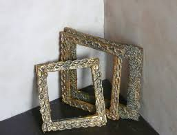 dollhouse miniature antique frame youtube