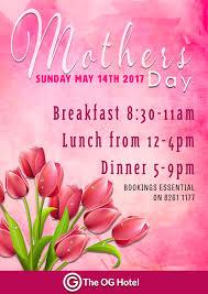 ogh mothers day 2017 wip og hotel u2013 historic south australian hotel