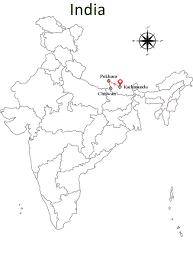 Map Of Nepal And India by Nepal Holiday Package Kathmandu Pokhara U0026 Chitwan Tour