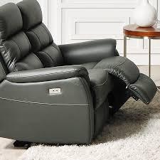 canapé 2 places relax cuir canape en cuir 2 places relax électrique sofamobili
