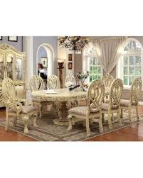 holiday savings furniture of america beaufort solid wood formal 9