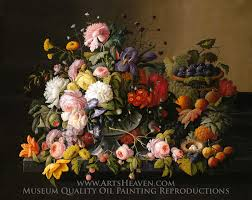 flowers and fruit reproduction painting severin roesen still flowers and fruit