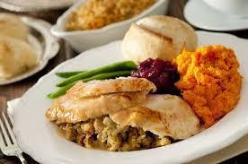 local restaurants serving a traditional thanksgiving dinner