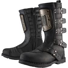 womens motorcycle boots canada icon motorcycle boots fortnine canada