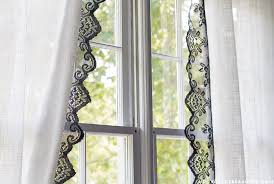 upcycled lace curtains u2014 crafthubs