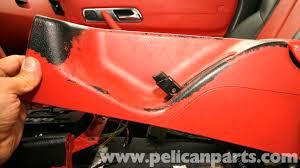 mercedes benz slk 230 rear center console removal 1998 2004