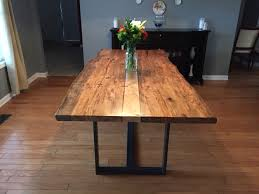 Maple Dining Room Set by Ambrosia Maple Live Edge Dining Table Furniture Pinterest