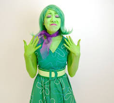 inside out costumes diy disgust costume inside out
