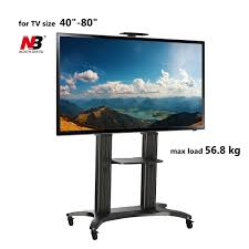 tv stands for 55 inch flat screens mobile tv stand with mount for 55