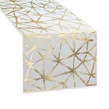 buy gold table runners from bed bath u0026 beyond