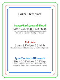 printable blank deck of cards deks and tables decoration