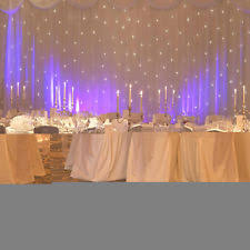Wedding Backdrop Manufacturers Uk Starlight Backdrop Other Wedding Supplies Ebay