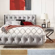 silver beds for less overstock com