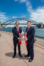 Tourist Signposting Manual Destination Nsw Nsw Signs Historic Partnership With Arsenal Fc Destination Nsw