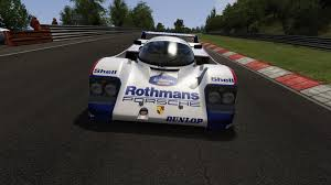 porsche rothmans 962c porsche rothmans racing racedepartment