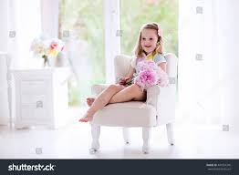 Pink Peonies Nursery Little Smelling Peony Flower Bouquet Stock Photo 441054376